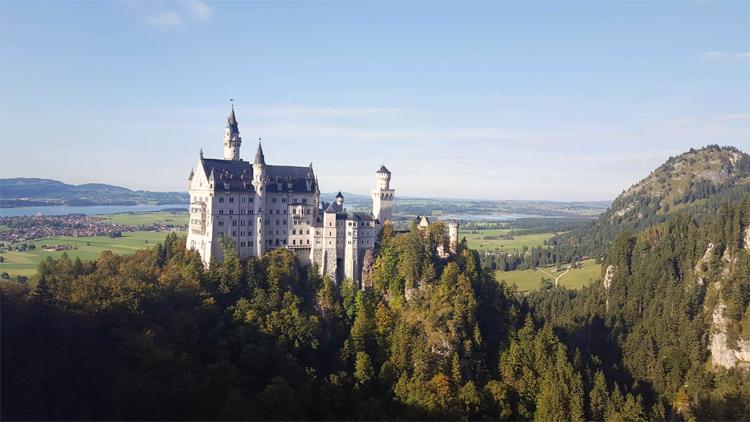 Zamek jak z bajki