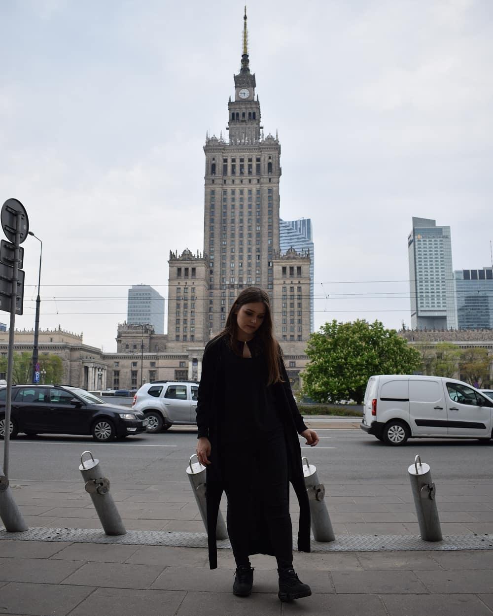 pałac kultury i nauki, warszawa, pierwszy raz w Warszawie